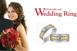 Tưng bừng Lễ hội nhẫn cưới tại THẾ GIỚI KIM CƯƠNG