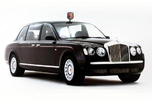 Bentley trong lễ cưới Hoàng gia Anh