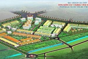 Idico xây khu dân cư trung tâm 30 ha tại Long An