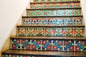 Trang trí bậc cầu thang