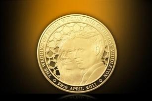Ra mắt đồng tiền vàng hoàng gia nặng 1kg