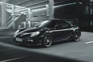 Porsche báo giá Cayman S Black Edition 2012