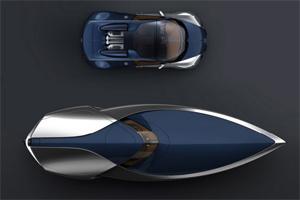 Du thuyền Bugatti Veyron Sang Bleu