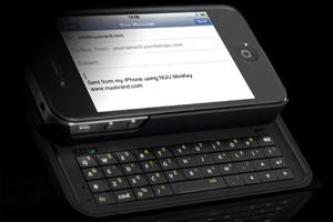 Vỏ iPhone 4 tích hợp bàn phím