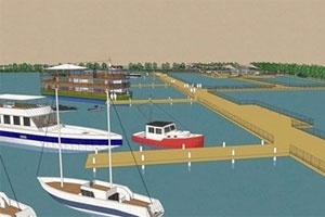 Hà Nội sẽ xây cầu cảng du lịch lớn nhất nước tại Hồ Tây