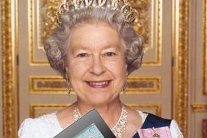 Nữ hoàng Anh quốc sẽ sử dụng iPad