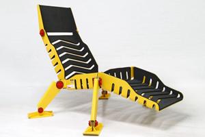 Ghế dài cảm hứng từ ong vàng