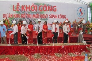 Khởi công khu đô thị Kosy Sông Công tại Thái Nguyên
