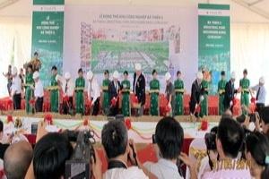 VinaCapital chính thức khởi công khu công nghiệp Bá Thiện 2