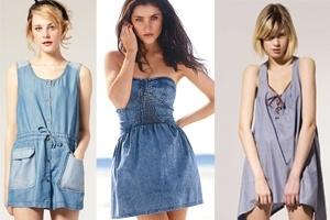 Trẻ trung váy jean