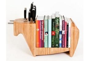 Xinh xắn thư viện trong bếp