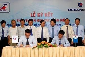 OceanBank hợp tác toàn diện với Vinalines