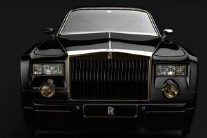 Rolls-Royce Phantom bọc vàng