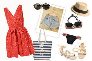 Mặc gì khi đi biển cuối tuần?