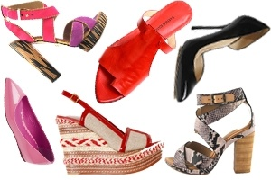 """Những đôi giày """"phải có"""" trong mùa resort 2012"""