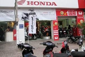 Xe máy Honda giảm giá