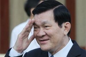 Ông Trương Tấn Sang được giới thiệu làm Chủ tịch nước