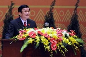 Tân Chủ tịch nước Trương Tấn Sang