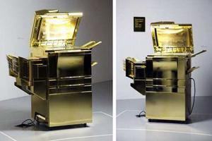 Máy photocopy mạ vàng