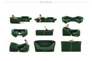 Sosia, ghế sofa đa chức năng