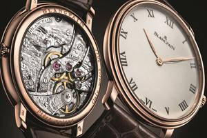 Only Watch 2011: Đồng hồ Blancpain Villeret Grande Décoration