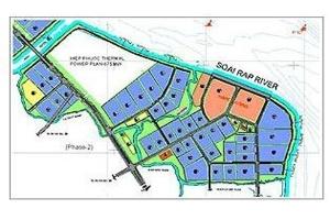 Đất khu công nghiệp Hiệp Phước cao nhất 3,7 triệu đồng mỗi m2