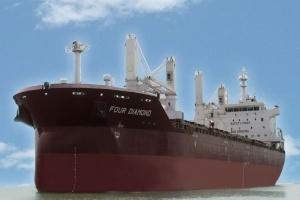Vinashin bàn giao Tàu Four Diamond cho đối tác Italia
