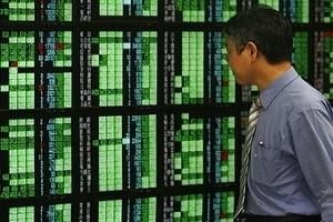Chứng khoán châu Á đi lên nhờ tín hiệu tích cực từ Phố Wall