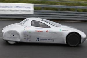 Xe ô tô điện Schluckspecht E lập kỷ lục thế giới