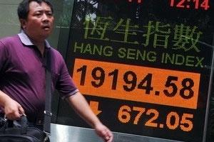 Chứng khoán châu Á lao dốc vì lo Hy Lạp vỡ nợ