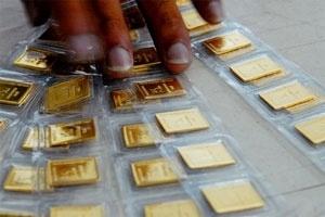 Một số cửa hàng vàng ngừng giao dịch