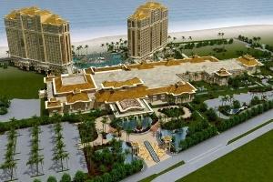 CTD: Chính thức ký hợp đồng làm tổng thầu dự án Hồ Tràm Strip