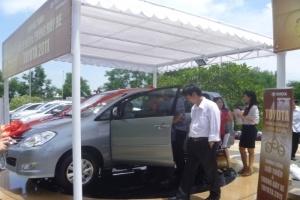 """""""Giới thiệu và Trưng bày xe Toyota 2011"""" tại 6 tỉnh thành trên cả nước"""