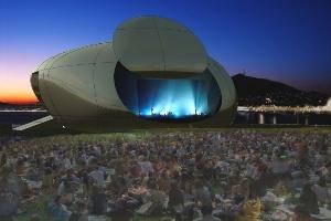Tòa nhà Opera ở Busan với thiết kế giống UFO