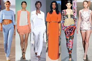 Xu hướng Xuân 2012 từ New York Fashion Week - P.1