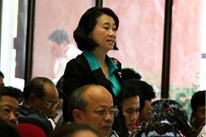 Bà Đặng Thị Hoàng Yến đề xuất Luật Bảo vệ quyền riêng tư