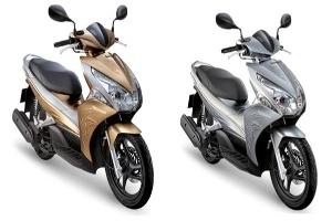 Honda Việt Nam ra moắt phiên bản Air Blade IF sơn từ tính
