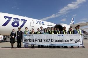 Boeing 787 Dreamliner chính thức bay thương mại