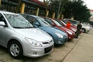 Ban hành bảng giá tối thiểu tính phí trước bạ ô tô