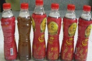 Hàng chục ngàn chai trà Dr Thanh sủi bọt trắng bất thường