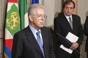 Ông Mario Monti thành thủ tướng tạm quyền Italy