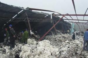 121 tỷ đồng bồi thường cho vụ cháy tại Dệt Hà Nam