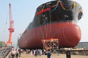 Vinashin hạ thủy tàu hàng rời 53.000 tấn