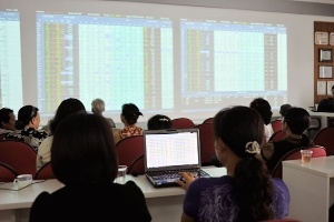 Blue-chips đỡ giá, VN-Index trở lại đà tăng