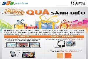 Rinh quà sành điệu cùng iStore Premium