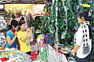 Thị trường Giáng sinh: Chuông rung là bán