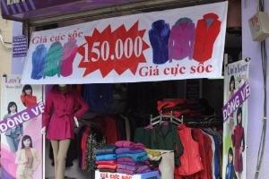 Áo rét đại hạ giá đầu đông