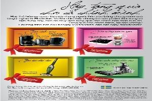 Electrolux giảm giá hàng loạt các bộ sản phẩm