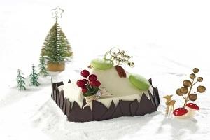 Bánh Noel từ bình dân đến bánh rắc vàng ròng