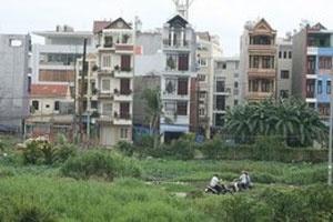 """Giá đất dự án """"hoang"""" giảm 50%"""